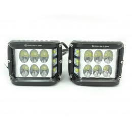 LAMPY ROBOCZE LED 2x 77x98mm