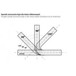 WSKAŹNIK / ZEGAR - DEPO WA60 - TEMPERATURA OLEJU